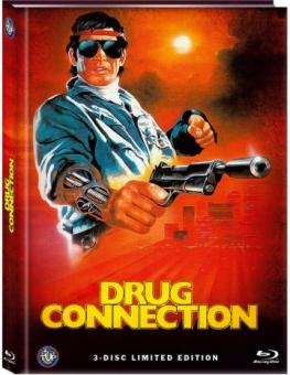 A Man from Holland (Drug Connection) (Limited Mediabook, Blu-ray+DVD, Cover A) (1986) [FSK 18] [Blu-ray]