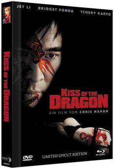 Kiss of the Dragon (Limited Mediabook, Blu-ray+DVD, Cover A) (2001) [FSK 18] [Blu-ray]