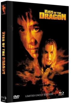 Kiss of the Dragon (Limited Mediabook, Blu-ray+DVD, Cover C) (2001) [FSK 18] [Blu-ray]