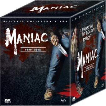 Maniac 1980/2012 (Ultimate Collector's Box, 2 Blu-ray's+DVD+2 CDs, Mediabook, inkl. Schneekugel) [FSK 18] [Blu-ray]