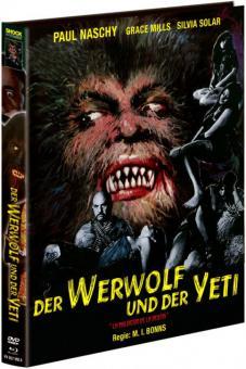 Der Werwolf und der Yeti (Limited Mediabook, Blu-ray+DVD, Cover A) (1975) [FSK 18] [Blu-ray]