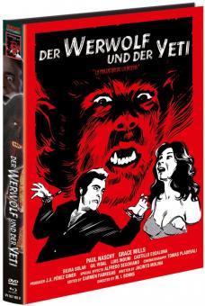 Der Werwolf und der Yeti (Limited Mediabook, Blu-ray+DVD, Cover B) (1975) [FSK 18] [Blu-ray]