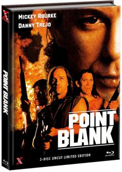 Point Blank - Over and Out (Limited Mediabook, Blu-ray+DVD, Cover A) (1997) [FSK 18] [Blu-ray]