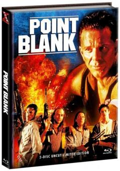 Point Blank - Over and Out (Limited Mediabook, Blu-ray+DVD, Cover C) (1997) [FSK 18] [Blu-ray]