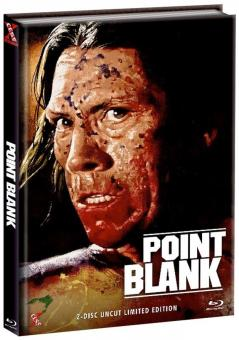 Point Blank - Over and Out (Limited Mediabook, Blu-ray+DVD, Cover D) (1997) [FSK 18] [Blu-ray]