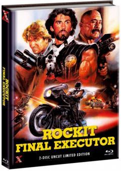 Rockit - Final Executor (Limited Mediabook, Blu-ray+DVD, Cover A) (1984) [FSK 18] [Blu-ray]