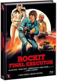 Rockit - Final Executor (Limited Mediabook, Blu-ray+DVD, Cover B) (1984) [FSK 18] [Blu-ray]