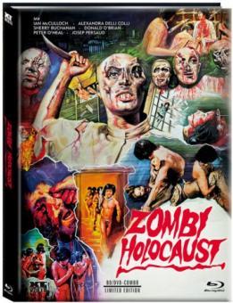 Zombies unter Kannibalen (Zombie Holocaust) (Limited Mediabook, Blu-ray+DVD) (1979) [FSK 18] [Blu-ray]