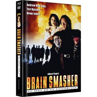 Brain Smasher (Limited Mediabook, Blu-ray+DVD, Cover A) (1993) [FSK 18] [Blu-ray]