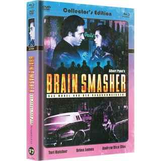 Brain Smasher (Limited Mediabook, Blu-ray+DVD, Cover C) (1993) [FSK 18] [Blu-ray]