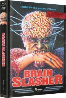 Brainslasher (Limited Wattietes Mediabook, Blu-ray+DVD, Cover D) (1992) [FSK 18] [Blu-ray]