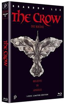 The Crow - Die Krähe (Limited Mediabook, Blu-ray+DVD, Cover B) (1994) [FSK 18] [Blu-ray]