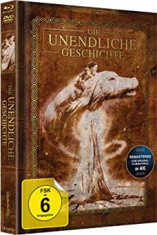 Die unendliche Geschichte (Limited Mediabook, Blu-ray+DVD, Cover B) (1984) [Blu-ray]