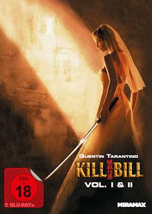 Kill Bill: Volume 1+2 (Limited Mediabook, Cover B) [FSK 18] [Blu-ray]
