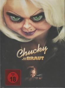 Chucky und seine Braut (Limited Mediabook, Blu-ray+CD, Cover B) (1998) [FSK 18] [Blu-ray]