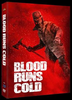 Blood Runs Cold (Limited Mediabook, Blu-ray+DVD, Cover B) (2011) [Blu-ray]