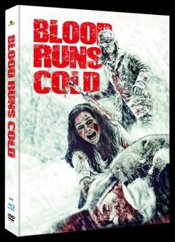 Blood Runs Cold (Limited Mediabook, Blu-ray+DVD, Cover C) (2011) [Blu-ray]