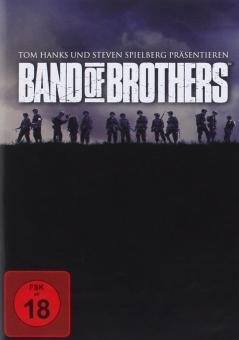 Band of Brothers - Wir waren wie Brüder, Die komplette Serie (6 DVDs) (2001) [FSK 18]