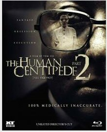 The Human Centipede 2 (2011) [FSK 18] [Blu-ray]