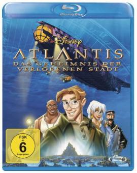 Atlantis - Das Geheimnis der verlorenen Stadt (2001) [Blu-ray]