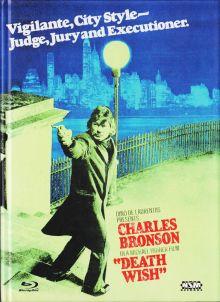Ein Mann sieht rot - Death Wish (Limited Mediabook, Blu-ray+DVD, Cover A) (1974) [FSK 18] [Blu-ray]