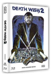 Death Wish 2 - Der Mann ohne Gnade (Limited Mediabook, Blu-ray+DVD, Cover C) (1982) [FSK 18] [Blu-ray]