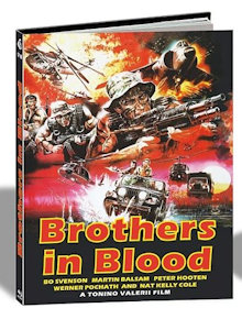 Brothers in Blood (Savage Attack) (Limited Mediabook, Cover A) (1987) [FSK 18] [Blu-ray]
