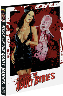 Attack of the Adult Babies (Limited Mediabook, Blu-ray+DVD, Cover F) (2017) [FSK 18] [Blu-ray]