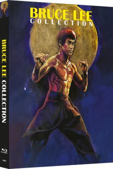 Bruce Lee - Die Collection (4 Disc Uncut Mediabook, Cover A) [Blu-ray]