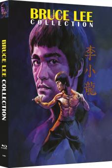 Bruce Lee - Die Collection (4 Disc Uncut Mediabook, Cover B) [Blu-ray]