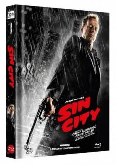 Sin City (Limited Mediabook, 2 Discs, Cover F) (2005) [FSK 18] [Blu-ray]