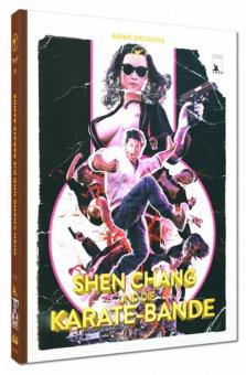 Shen Chang und die Karate-Bande (Limited Mediabook, Blu-ray+DVD, Cover E) (1973) [FSK 18] [Blu-ray]