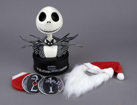 Nightmare Before Christmas (Premium Edition in Sonderverpackung: 2 DVDs + 35 cm Jack Büste, Limited Edition) (1993)
