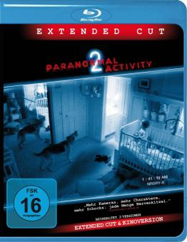 Paranormal Activity 2 (Extended Cut) (2010) [Blu-ray]