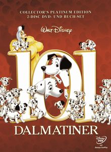 101 Dalmatiner (Collector's Edition, 2 DVDs + Buch) (1961)