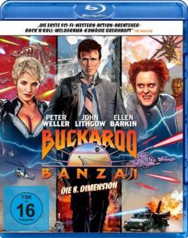 Buckaroo Banzai - Die 8. Dimension (1984) [Blu-ray]