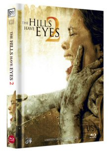The Hills have Eyes 2 (Uncut Limited Mediabook, Blu-ray+DVD, Cover A) (2007) [FSK 18] [Blu-ray]