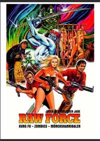 Raw Force - Jäger des tödlichen Jade (Limited Mediabook, Blu-ray+DVD, Cover B) (1982) [FSK 18] [Blu-ray]