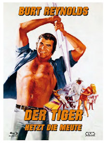 Der Tiger hetzt die Meute (Limited Mediabook, Blu-ray+DVD, Cover E) (1973) [Blu-ray]