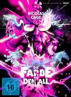 Die Farbe aus dem All - Color Out of Space (Limited Mediabook, 4K Ultra HD+2 Blu-ray's, Cover B) (2019) [4K Ultra HD]
