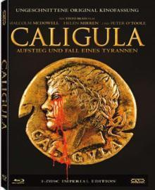 Caligula (3 Disc Imperial Edition, Uncut) (2 Blu-ray's + DVD, Mediabook) (1979) [FSK 18] [Blu-ray]