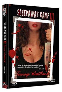 Das Camp des Grauens 3 - Sleepaway Camp 3 (Limited Mediabook, Blu-ray+DVD, Cover D) (1988) [FSK 18] [Blu-ray]