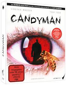 Candyman's Fluch (Candyman) (Limited Mediabook) (1992) [FSK 18] [Blu-ray]