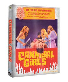 Cannibal Girls (Limited Mediabook Edition, Blu-ray+DVD, Cover A) (1973) [FSK 18] [Blu-ray]