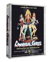 Cannibal Girls (Limited Mediabook Edition, Blu-ray+DVD, Cover B) (1973) [FSK 18] [Blu-ray]