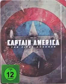 Captain America (Blu-ray + DVD und Digital Copy, Limited Steelbook) (2011) [Blu-ray]