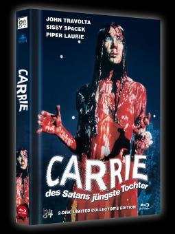 Carrie - Des Satans jüngste Tochter (Limited Mediabook, Blu-ray+DVD, Cover B) (1976) [Blu-ray]