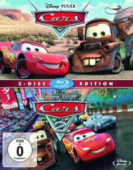 Cars / Cars 2 [Blu-ray]