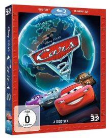 Cars 2 (2 Discs, 3D + 2D Blu-ray) (2011) [3D Blu-ray]