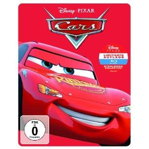 Cars (Limited Edition, Steelbook) (2006) [Blu-ray]